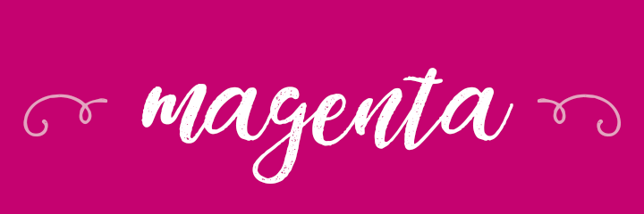 Magenta Color Personality banner