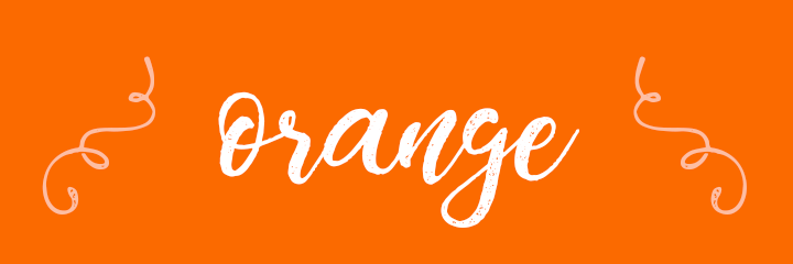 Orange Color Personality banner