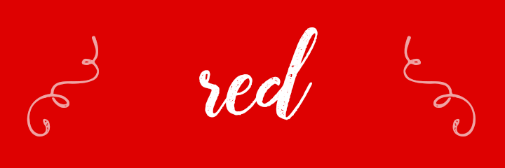 Red Color Personality banner