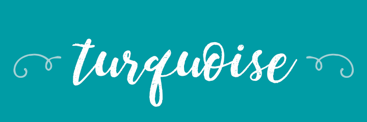 Turquoise Color Personality banner