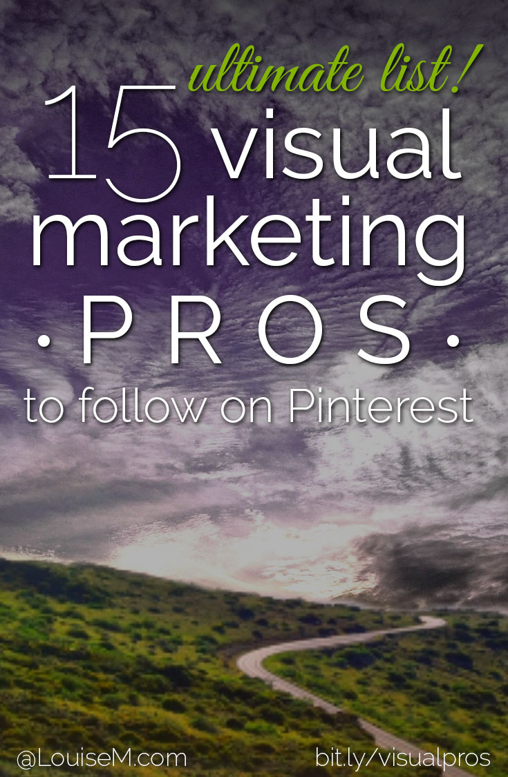 Pinterest feed fading? Follow these visual marketing pros to add pizazz! Get inspired by their expertise, and improve your social media presence right now.