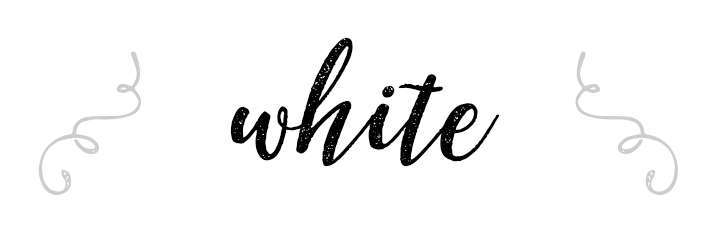 White Color Personality banner