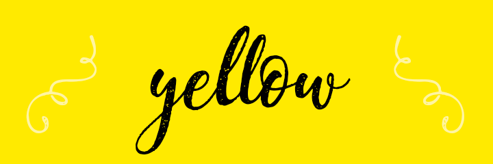 Yellow Color Personality banner