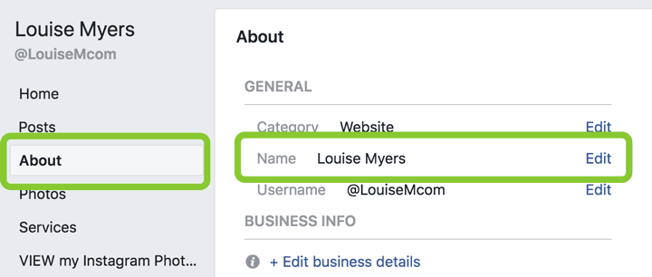 How do i change the name of my facebook group page