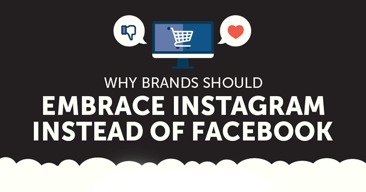 Instagram vs Facebook: Where Should You Focus? [infographic]