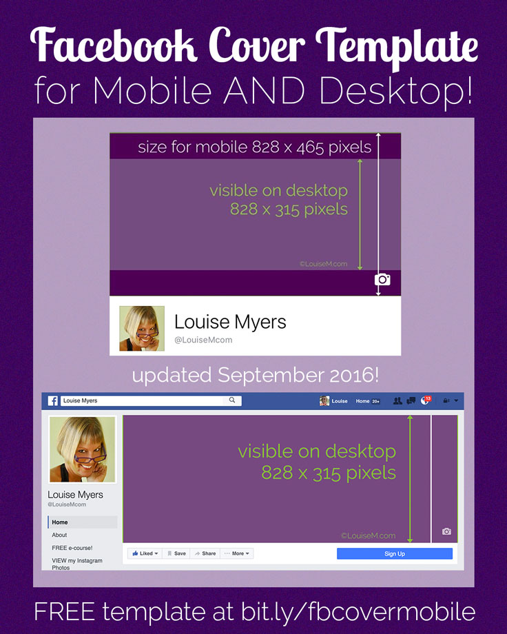 Ingenious! Facebook Cover Photo Mobile/Desktop Template
