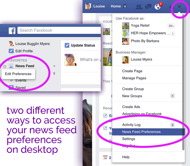 How to Take Control of Your Facebook Newsfeed – NOW!