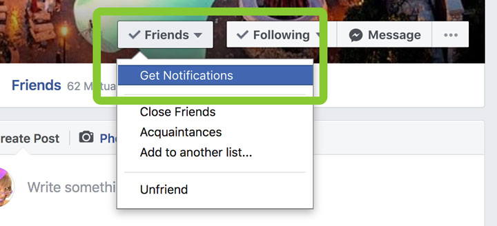 Get Facebook Notifications