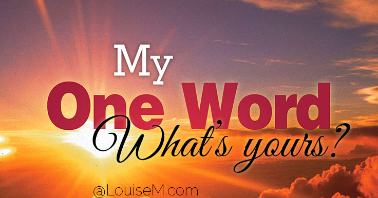 Choose a Word for the Year to Motivate and Inspire!