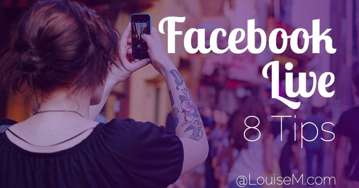Facebook Live Tips banner