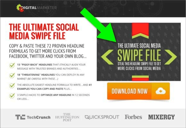 Founder of Digital Marketer, Ryan Deiss, collected more than 28,500 leads within 45 days by using the ultimate social media swipe.