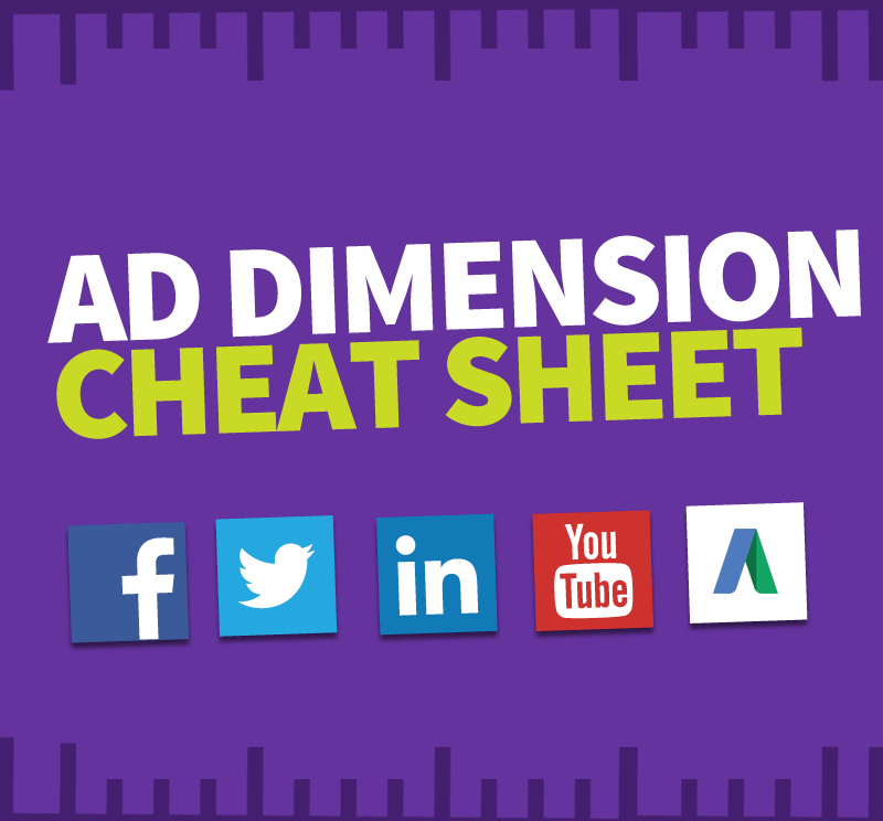 Social Media Ad Sizes and Top Tactics: 2016 Cheat Sheet