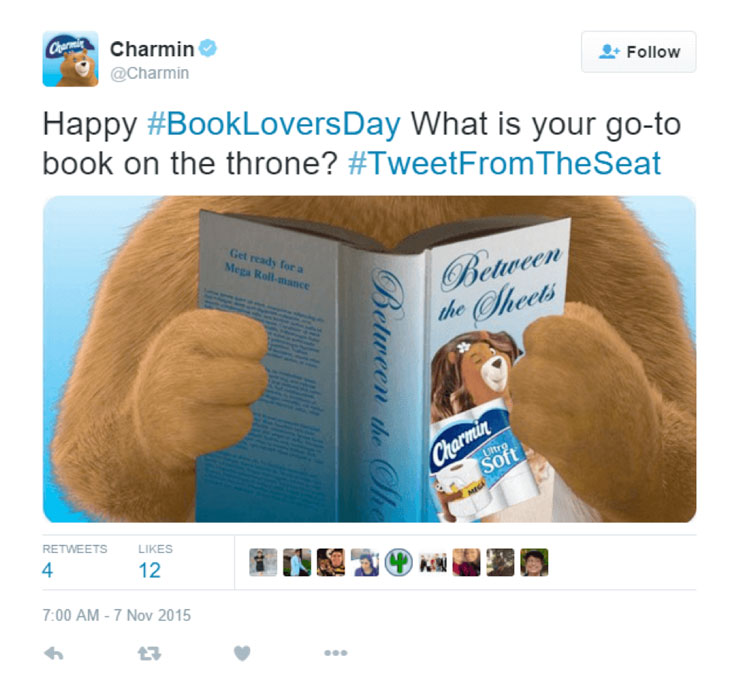 How to Use Hashtags: Charmin case study