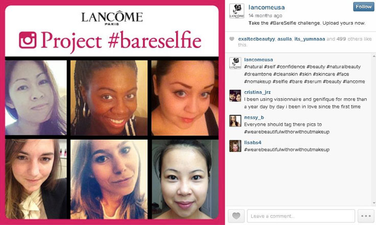 How to Use Hashtags: Lancome case study
