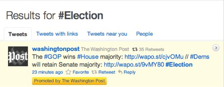 How to Use Hashtags: Washington Post case study
