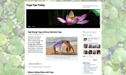 Curated Website Design on WordPress