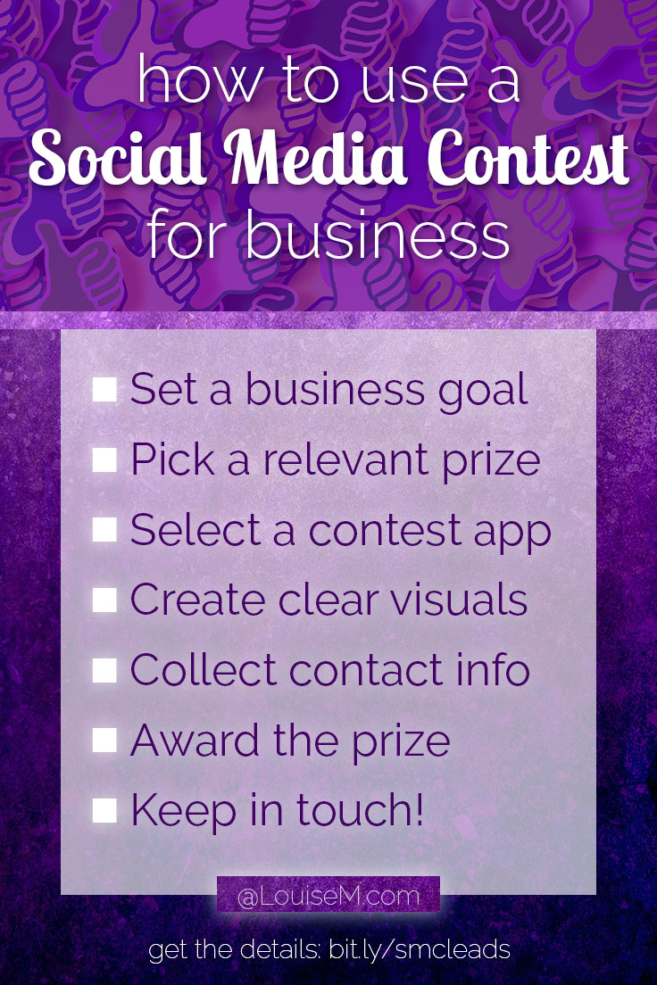Thinking of running a social media contest? If you've been struggling to build engagement and a prospect list, contests can help! Click thru to blog to learn how to get started.
