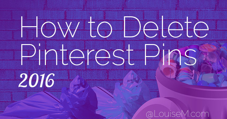How to Delete Pinterest Pins with Aggregate Pin Counts
