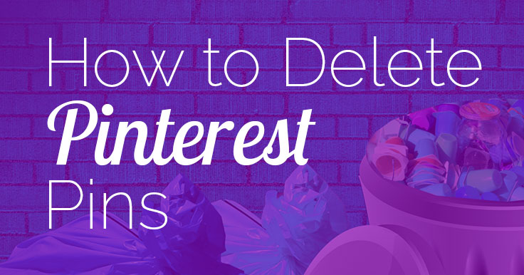 Wondering how to delete Pinterest Pins now? Lack of repin counts makes it tough to know which pins are performing – and which are losers. Here's the answer!