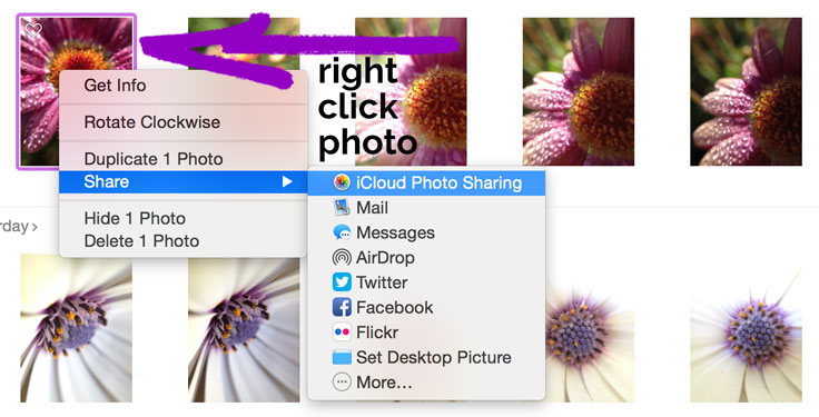 Easy way to get photos from Mac to Instagram.