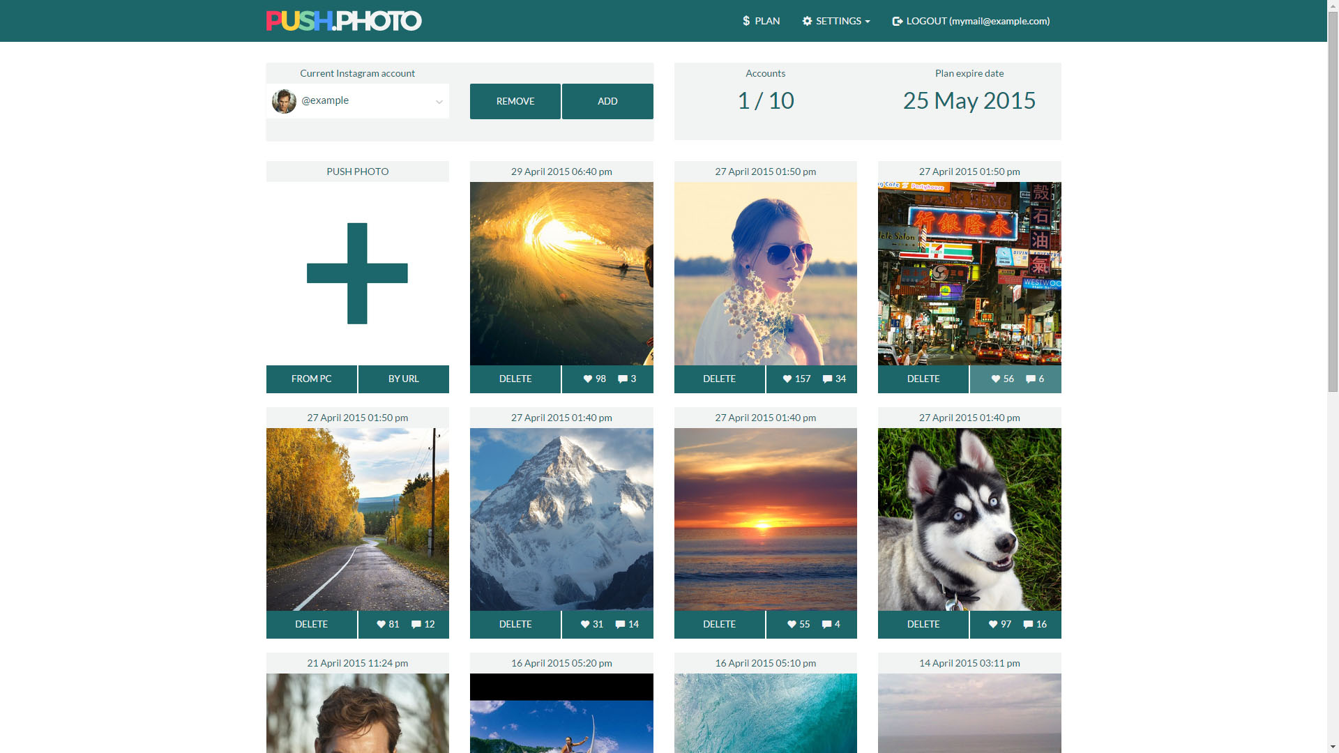 One Option For Scheduling Posts To Instagram Is Pushoto