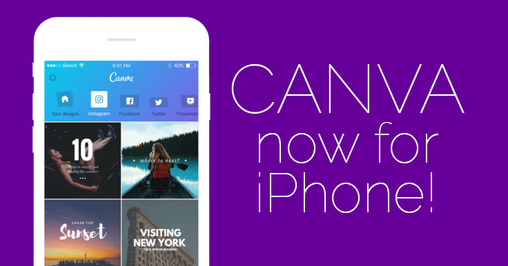 NEW Canva for iPhone! Create Amazing Visual Content on the Go