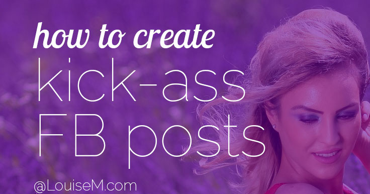 Create kick-ass Facebook Content banner