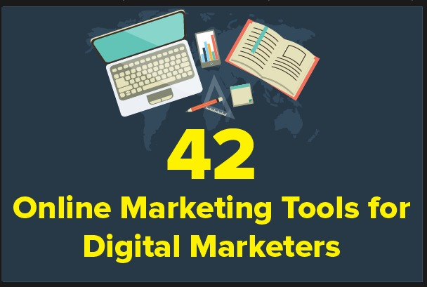 42 Online Marketing Tools To Make Your Life Easier