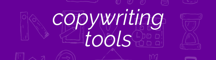 Copywriting tools banner image.