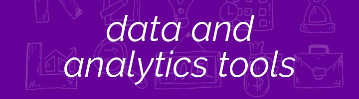 Data & Analytics Tools banner image