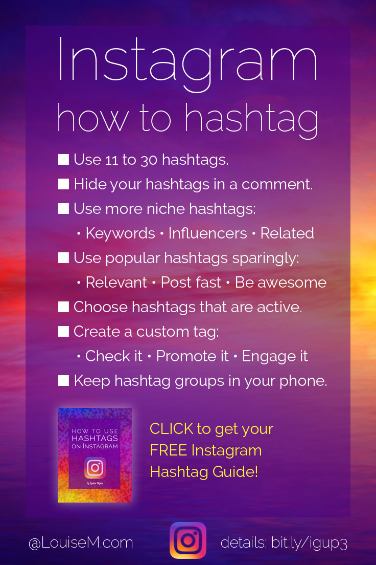 Wondering How To Use Hashtags On Instagram Now? Click To Get The Free Guide!
