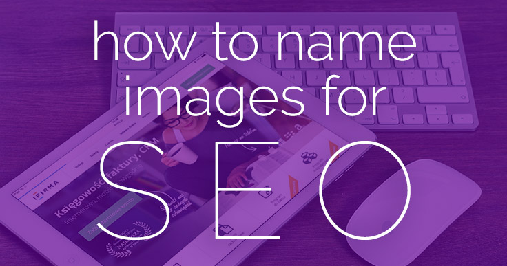 How to Name Images for SEO banner