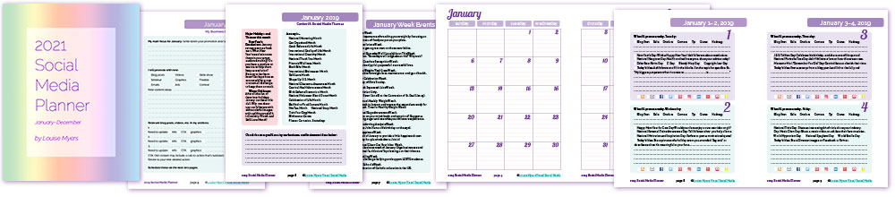 Social Media Content Planner has everything you need to plan a successful season!