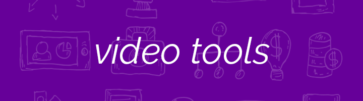 Video Tools banner image.