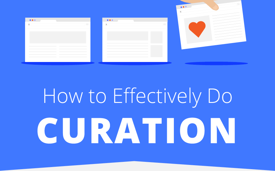How to Curate Content to Build Your Brand: Infographic