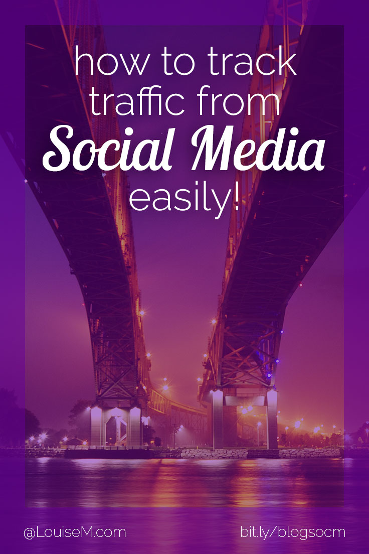 Learn how to track blog traffic from social media, so you know where to focus your time! Google Analytics is your BFF if you know where to look. It's easy! Click to blog to learn.