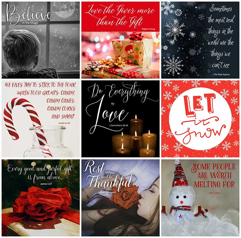 Holiday Social Media Graphics: Connect with Your Prospects EVERY Day Using Quality, Shareable Graphics that Cost so Little, and Save so Much Time!