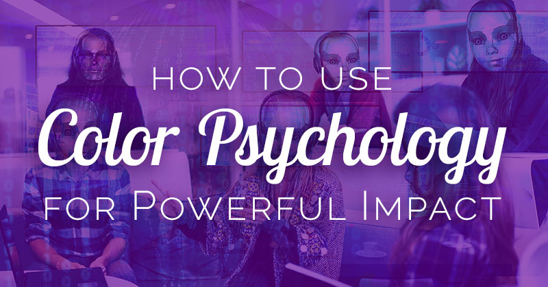 Learn how to use color psychology from a cool animated infographic! You'll understand each color's unique impact on human moods, behavior, and performance.
