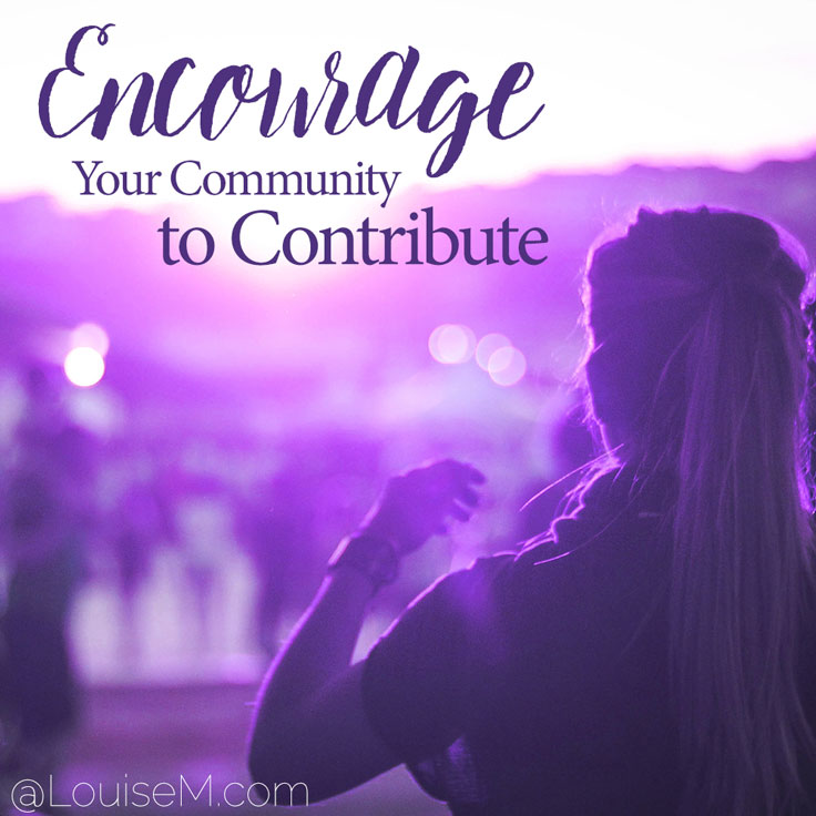 Wncourage your community to contribute to your epic blog post of crowdcourced content.