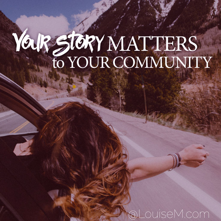 Storytelling is important in your marketing efforts. Your story matters to your community!