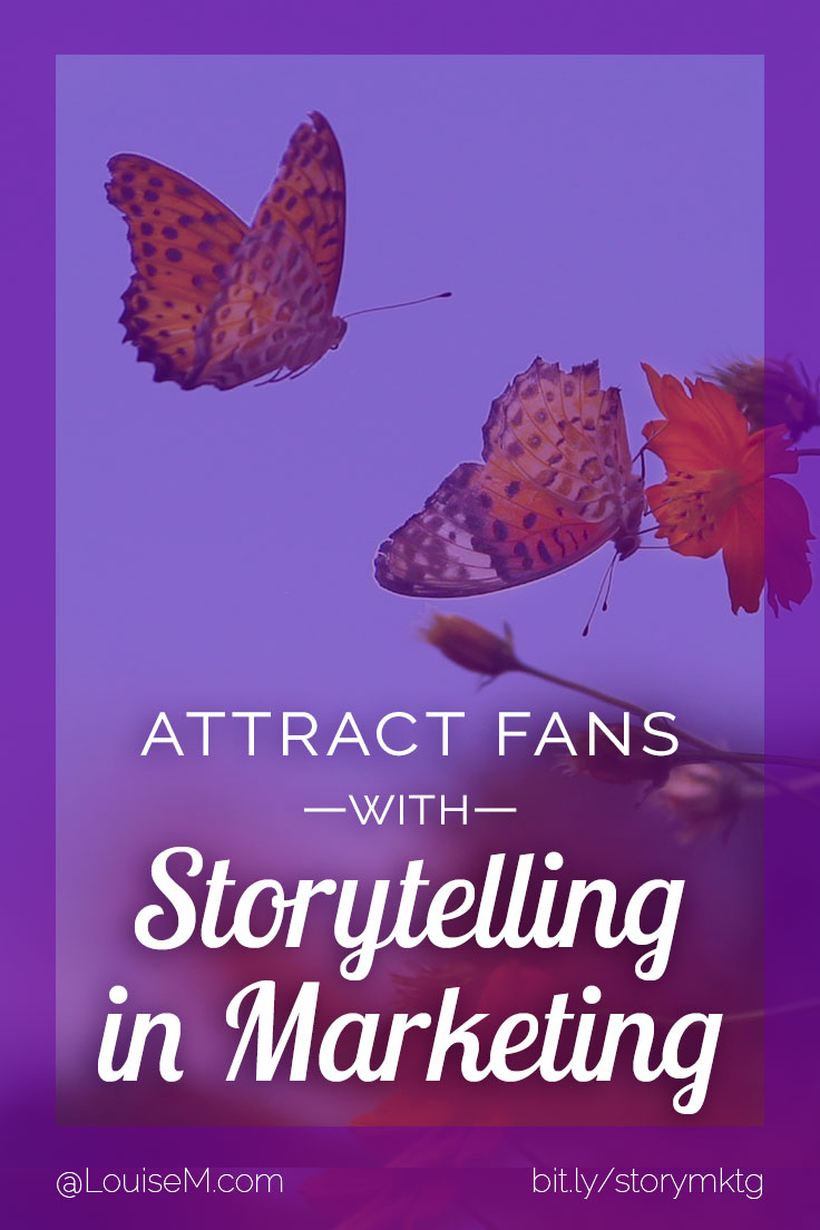 Want to use storytelling in marketing? Here's how to harness its power to build your tribe, and attract the right people to know, like, and trust you.
