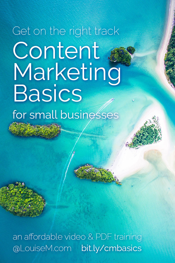 Marketing Tips for Small Business: Learn the content marketing basics for businesses just like yours, in this affordably priced video training. Click to buy, set your goals, and start growing your sales!