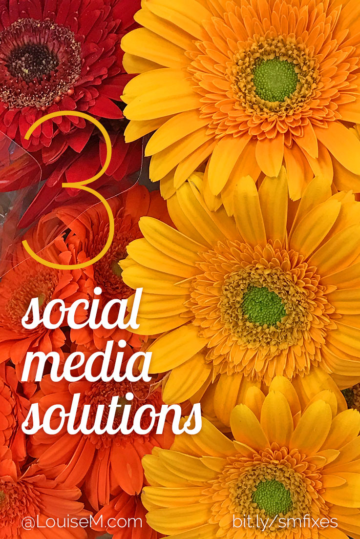 How's your social media strategy? Maybe you don't even know where to start using social media for your business. Find solutions to 3 common problems here!