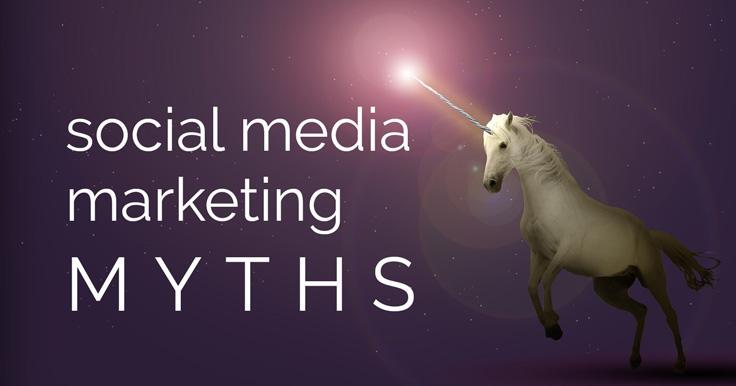 Are you using old social media advice? Here are 4 social media marketing misconceptions that may have been true before, but they're no longer useful.