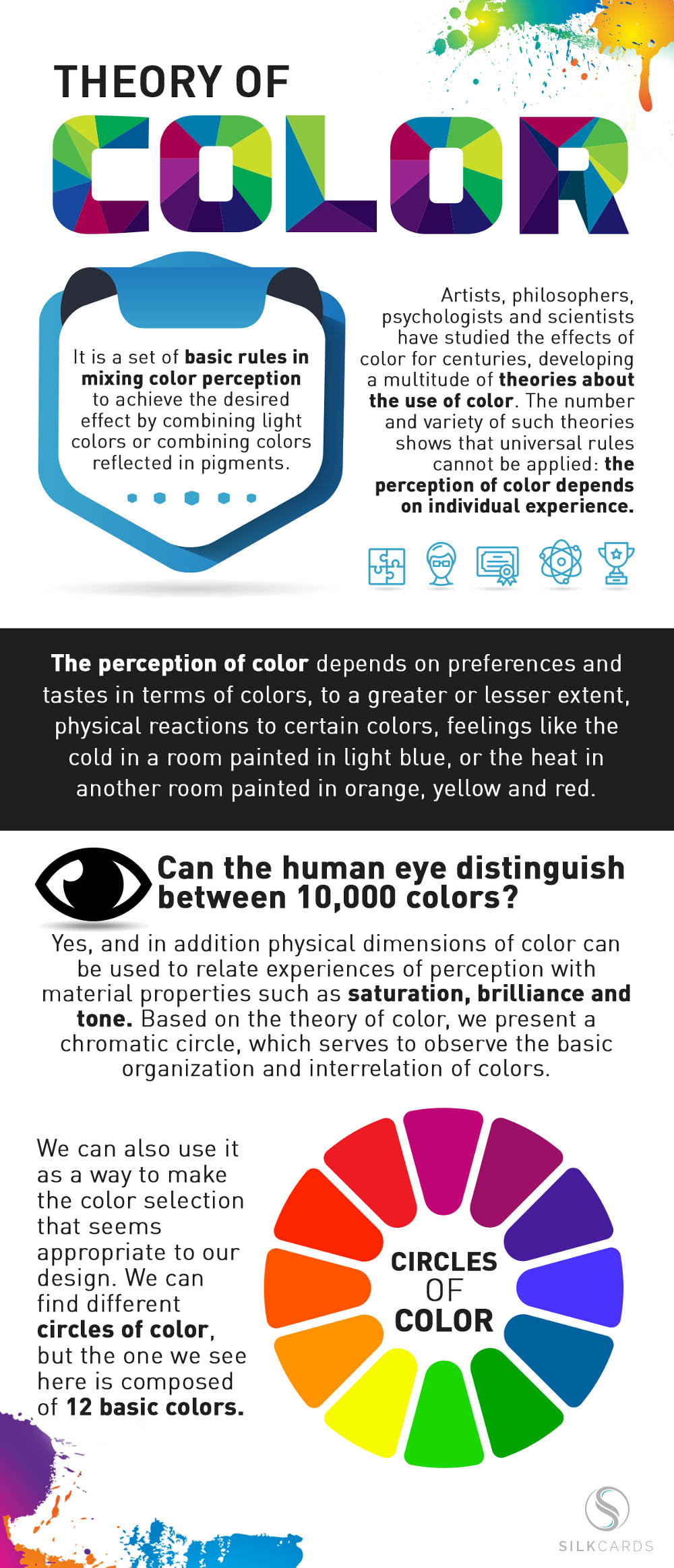 Baffled by color theory? While some are born with a sixth sense about color, most people are intimidated. Learn to use color like a pro in this infographic.
