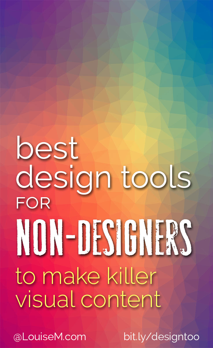 best design tools for non-designers pinnable image