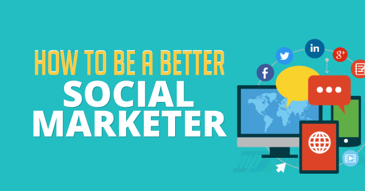 Want to be a better social marketer? One of your main weapons in the digital marketing arsenal is social media. Learn to use it well via this infographic.