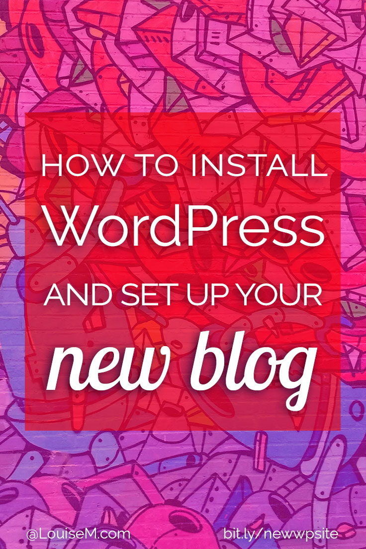 Wondering how to install WordPress? Afraid it's too complicated, too expensive, or too time consuming? Here's the fast and easy way to start a blog!