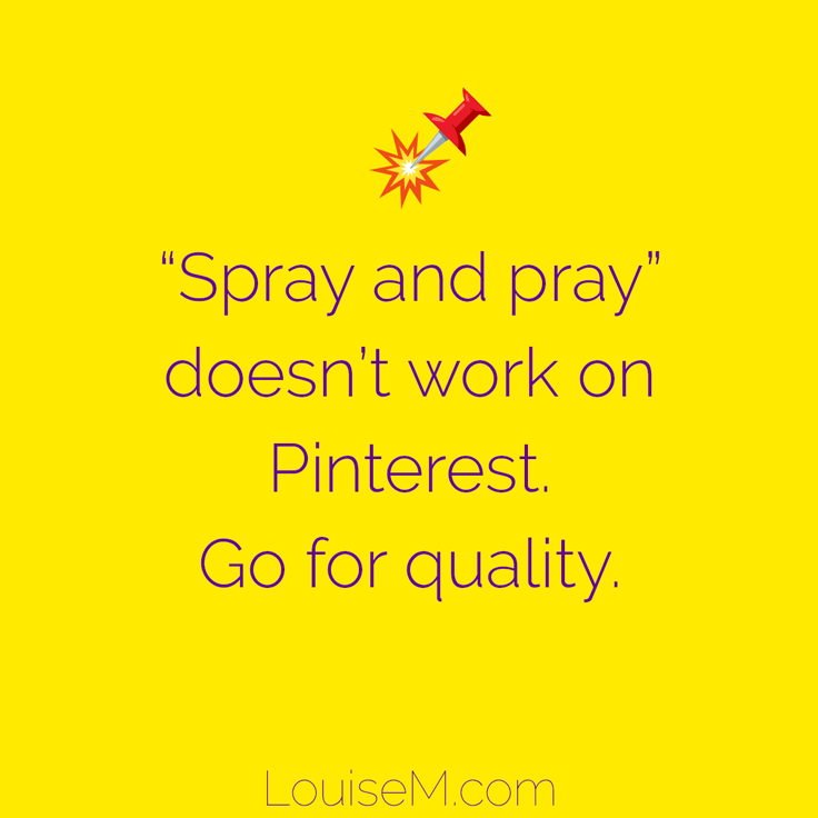"""Spray and Pray"" doesn't work. Join less boards, of better quality, and actively engage on them."