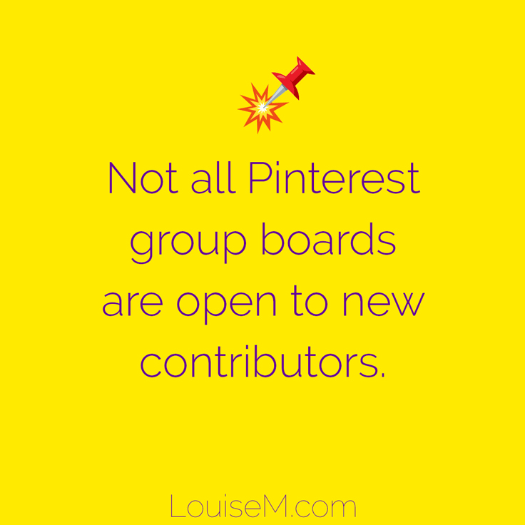 If there are no instructions to join, the group board may not be open to new contributors.